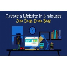 €9 Design Your Own Drag & Drop Website - No Coding!
