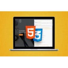 €9 Responsive Web Design & Web Development - HTML5 & CSS3