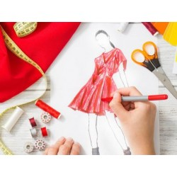 €19 Fashion Design and Dressmaking Diploma Course