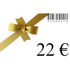 €22 for €20 vO Gift Card - €2 Discount-22
