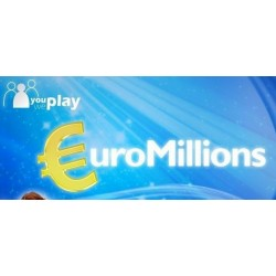 €9 500 EuroMillions Lines & 500 Millionaires Raffle Tickets Online