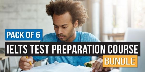 Pack of 6 - IELTS Test Preparation Course Bundle