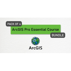 $/€/£28 Pack of 4 - ArcGIS Pro Essential Course Bundle