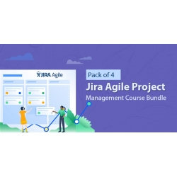 $/€/£36 Pack of 4 - Jira Agile Project Management Course Bundle
