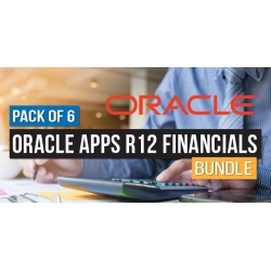 $/€/£55 Pack of 6 - Oracle Apps R12 Financials Bundle