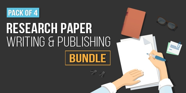 $/€/£32 Pack of 4 - Research Paper Writing and Publishing Bundle
