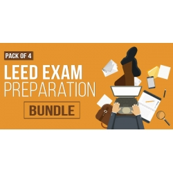 $/€/£72 Pack of 4 - LEED Exam Preparation Bundle