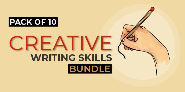 $/€/£74 Pack of 10 - Creative Writing Skills Bundle