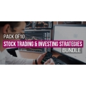 $/€/£79 Pack of 10 - Stock Trading & Investing Strategies Bundle