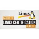 $/€/£69 Pack of 10 - Linux Certification Bundle