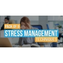 $/€/£66 Pack of 9 - Stress Management Techniques