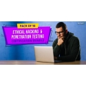 $/€/£96 Pack of 10 - Ethical Hacking & Penetration Testing Certification Bundle