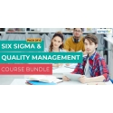 $/€/£66 Pack of 6 - Six Sigma And Quality Management Course Bundle