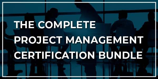 $/€/£99 Pack of 10 - Complete Project Management Certification Bundle
