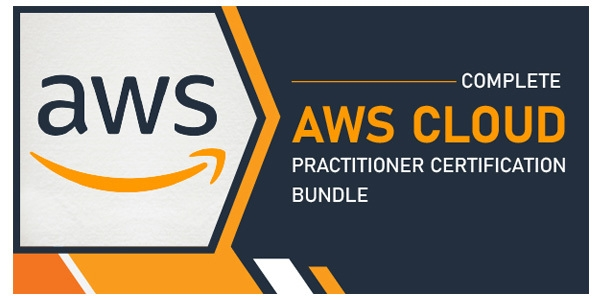 $/€/£138 Complete AWS Cloud Practitioner Certification Bundle