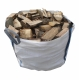 €65 Seasoned Dry Firewood Tonne Bag (Bulk Bag)