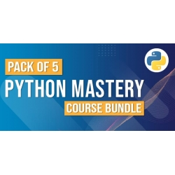 $/€/£32 Pack of 5 - Python Mastery Course Bundle