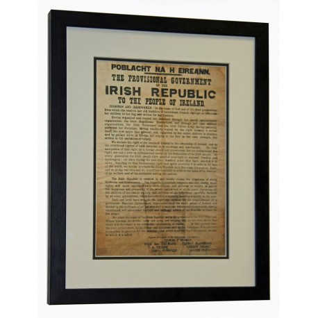 €5 Off (€44.95. Was €49.95) 1916 Proclamation of the Irish Republic
