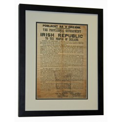 €5 Off (€44.95. Was €49.95) Large 1916 Proclamation of the Irish Republic