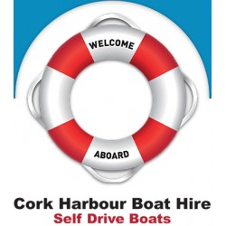 Cork Harbour Boat Hire. 2 Hr Wknd Tour €85. Was €95
