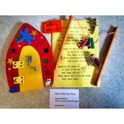 Hand Crafted Paint it yourself Fairy Doors